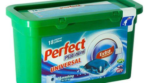 Perfect Platinum ผลิตภัณฑ์แคปซูลน้ำยาซักผ้า จากประเทศฮังการี