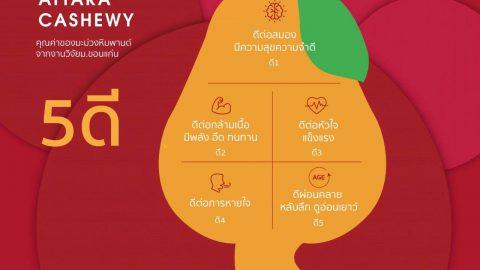 น้ำมะม่วงหิมพานต์ Cashewy งานวิจัย ม.ขอนแก่น บ.ไอยรา